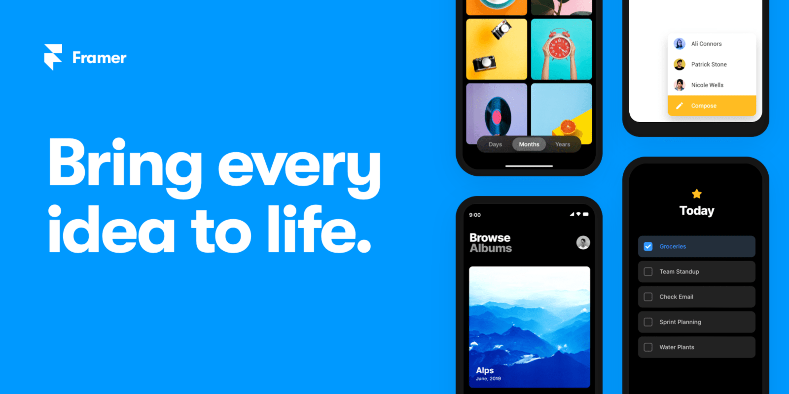 Framer: The prototyping tool for teams